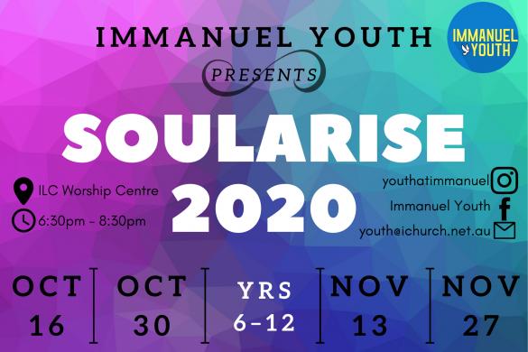 Soularise Youth Yr 7-12